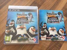 """PS3:  THE PENGUINS OF MADAGASCAR    """"les pingouins de madagascar"""" DR BLOWHOLE"""