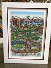 """Charles Fazzino 3D Artwork """"Take The B-Train To Brooklyn"""" Signed & Numbered DX"""
