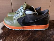 Nike Dunk Low Wmns 'Mandarin Green' Size Uk8,5,EU43.