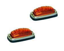 2 X MONARK Blinkleuchte / Blinker RETRO für OLDTIMER SCHLEPPER - FLASHER LAMP