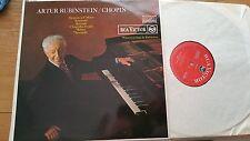 ARTUR RUBINSTEIN - CHOPIN - RCA VICTOR RB 6683 - LP
