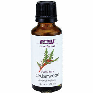 NOW® 100% Pure & Natural Cedarwood Oil - 1 oz (7525), Fresh, Free Shipping
