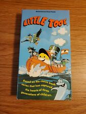 LITTLE TOOT VHS 1992 Animated Tugboat STRAND HOME VIDEO Good