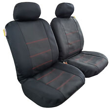 New Arrival 2pcs Waterproof Neoprene Car Seat Cover Universal Size Black