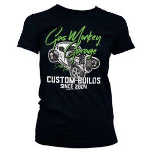 Officially Licensed Gas Monkey Garage Custom Neon Women's T-Shirt S-XXL