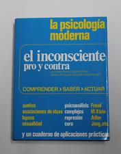 Libro EL INCONSCIENTE Pro y contra Andre Akoun  - 3ª Edicion Psicologia moderna