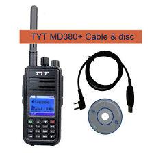 TYT MD-380 VHF Portátil Walkie Talkie Transceptor Digital Con Pantalla Colorida