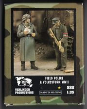 VERLINDEN 880 - FIELD POLICE & VOLKSSTURM WWII - 1/35 RESIN KIT