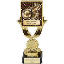 FOOTBALL SOCCER PARENTS PLAYER TROPHY QUALITY ENGRAVED FREE SQUAD TEAM TROPHIES