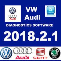 2018.2.1 VW Audi SEAT Car Diagnostics software