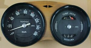 SEAT 850 SPECIAL - SEAT 850 COUPE DASHBOARD
