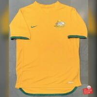 Authentic Nike Australia Socceroos 2006-08 Home Jersey. Size M, Excellent Cond.