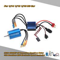 2838 4500KV 4P Sensorless  Brushless Motor & 35A Brushless ESC for RC Car T6L6