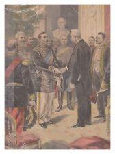 LE PETIT JOURNAL 381 06/03/1898  ZOLA  PRINCE RUSSE OUROUSOFF A PARIS