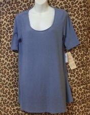 NWT Oh Baby By Motherhood Bump Style Collection Blue Maternity Tunic Top - XL
