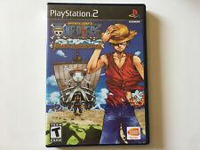 One Piece grand adventure PS2 boite et notice
