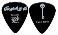 SUGARLAND Guitar Pick : 2011 Tour - I Was There black key country band