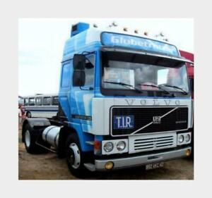 Volvo F12 Turbo 6 Globetrotter Tractor Truck 2-Assi 1983 Ixo 1:43 TR090