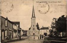 CPA Vaux-sur-Aubigny Rue de l'Etang et l'Eglise (616930)