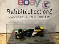 "DIE CAST "" MINARDI M191 - 1991 PIERLUIGI MARTINI "" FORMULA 1 COLLECTION 1/43"