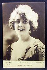 Huguette Duflos-AK-Photo Autograph Card-Photo Postcard (g-4431