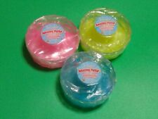 Grin Studios Amazing Putty Glitter Gem Collection Lot of 3 Blue, Green, Pink