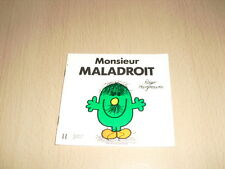 """Monsieur MALADROIT  Roger Hargreaves Collection """"Bonhomme"""""""