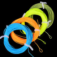 100FT Weight Forward With Loop Fly Fishing Line WF-2F/3F/4F/5F/6F/7F/8F Fly Line
