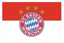 Fc Bayern Munich Flag Banner 3x5 ft Soccer New Futbol Club Red White