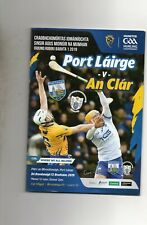 GAA HURLING - WATERFORD V CLARE 12/5/2019  MUNSTER CHAMPIONSHIP