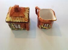 Cottage Ware Sugar and Creamer Price Kensington England