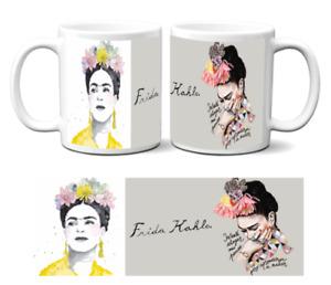 Tasse Cup Mug Becher Aquarelle Paintings collection v8 Frida Kahlo