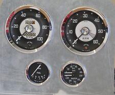 Austin Healey Sprite Mk2 1961 Smiths Full Set Speedo Tacho Oil Temp Fuel Gauge