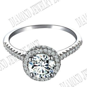 Fashion Lady! Sterling Silver 925 Round Cut  Prong Setting Flawless CZ Fine Ring