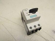 SIEMENS SIRIUS MANUAL MOTOR CONTROLLER 3RV1021-0GA10 0.63FLA CLASS-10 13A XLNT !