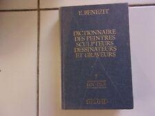 Dictionnaire des peintres sculpteurs dessinateurs et graveurs  tome 7 BENEZIT