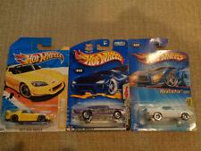 Hot Wheels assorted 3 cars.   67 PONTIAC