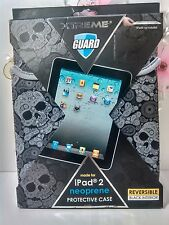 Protective Case Xtreme Guard For iPad 2 Neoprene Reversible Cover