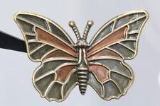 wohl ab 2010 bemalter Schmetterling Filigran gestalteter Zierknopf