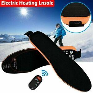 USB Beheizbare Einlegesohlen Beheizte Schuheinlagen mit Fernbedienung Heizsohlen