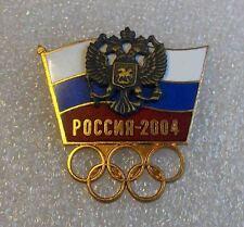olympic pin  NOC  RUSSIA 2004 ATHENS  GREECE enamel  rare