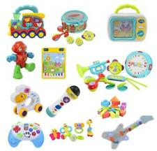 Baby Learning Toys Teether Rattle Musical Interactive Sensory Sound Light Gift