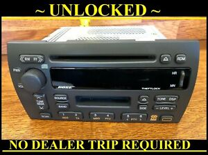 New Unlocked 00-01 Cadillac Deville 1998-01 Seville BOSE RADIO AM FM CASSETTE CD