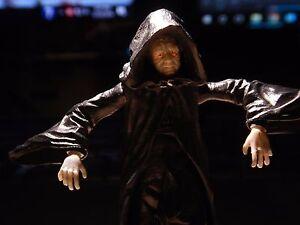 "STAR WARS EMPEROR PALPATINE Action Toy Figure Hasbro LFL 2003 ""The Dark Side"""