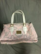 LOUIS VUITTON LIMITED EDITION PINK/WHITE TAHITIENNE GM TOTE BAG! MINT! SOLD OUT!
