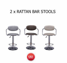 Unbranded Rattan Modern Bar Stools