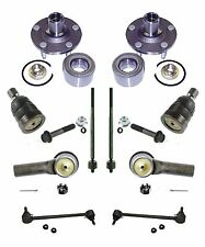 Tie Rod Ball Joint Wheel Hub Front End Kit for 2001-04 Ford Escape Mazda Tribute