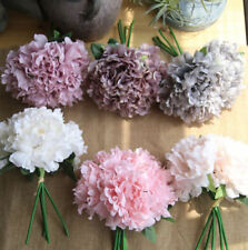 Unbranded Fabric Peony Flowers & Floral Décor