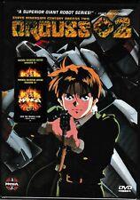 Orguss 02 Anime DVD Brand New