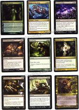 Schwarze / grüne Magic Karten, inkl. Planeswalker Vraska the Unseen, Set Nr. 14